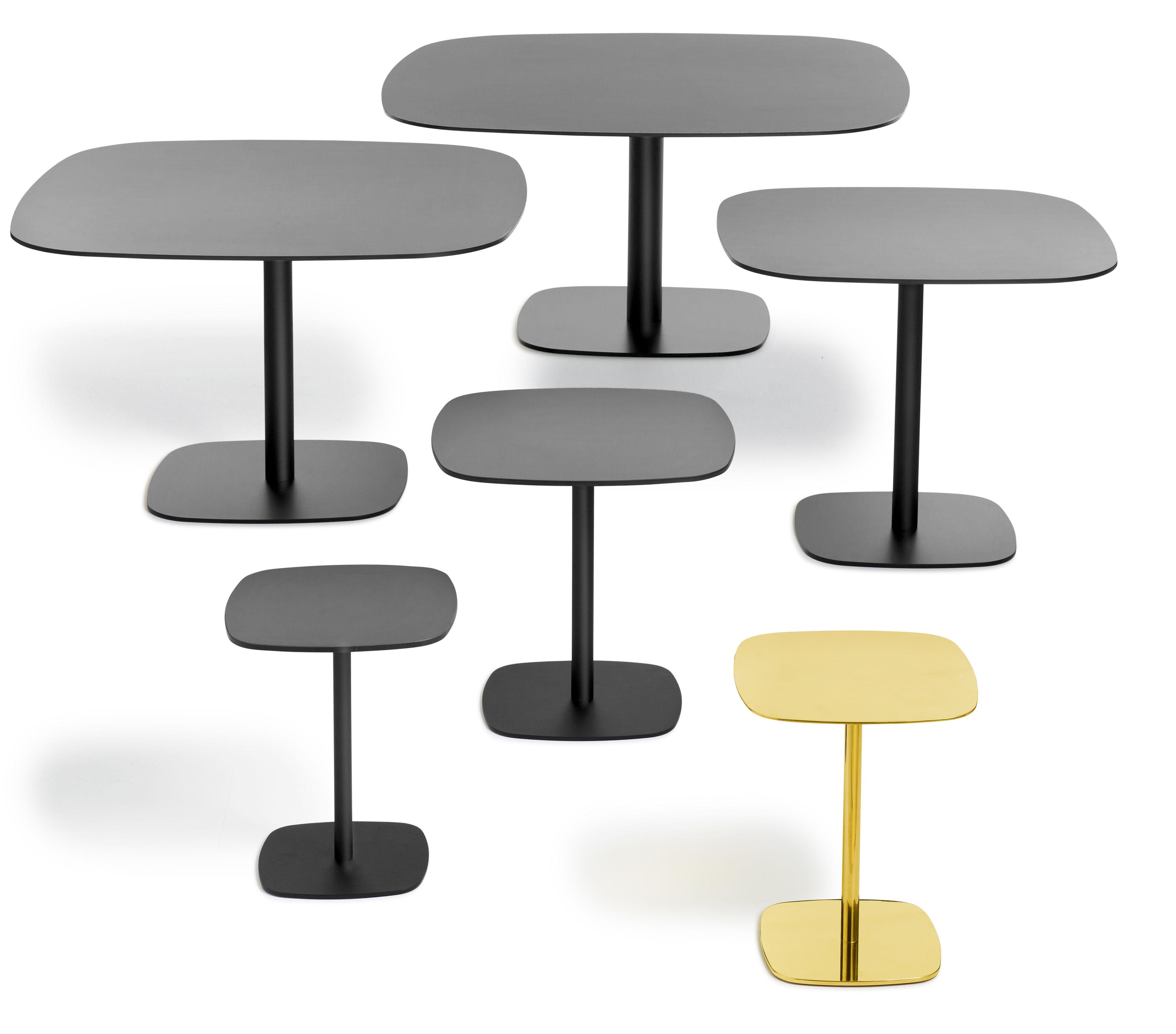 Scopri tavolino nobis 40x40 cm h 43 cm nero 40x40 cm for Tavolo 40x40