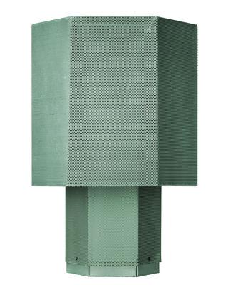Luminaire - Lampes de table - Lampe de table Hexx / H 58 cm - Diesel with Foscarini - Vert - Acier verni