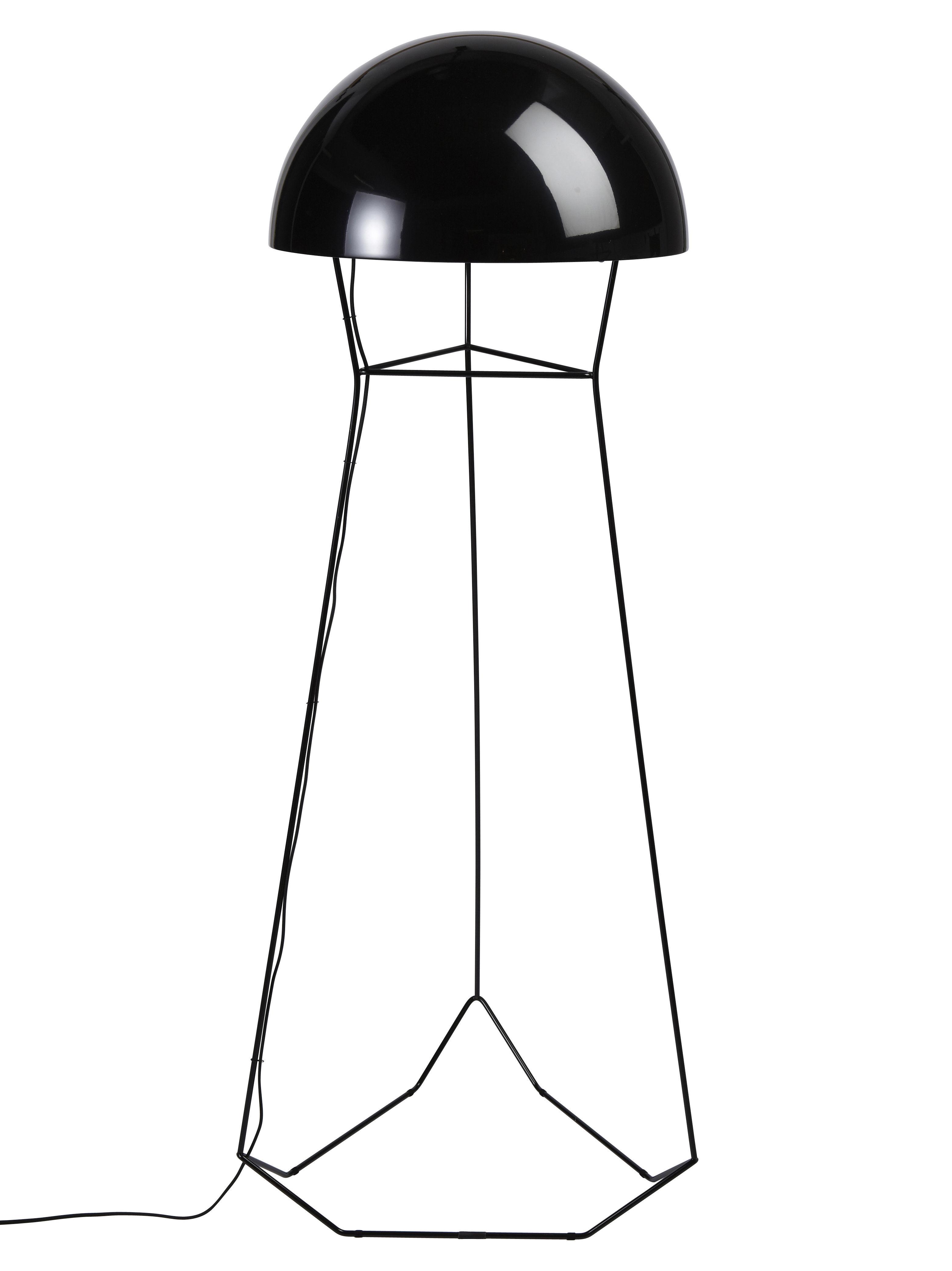 Lampadaire Dom H 145 cm Noir