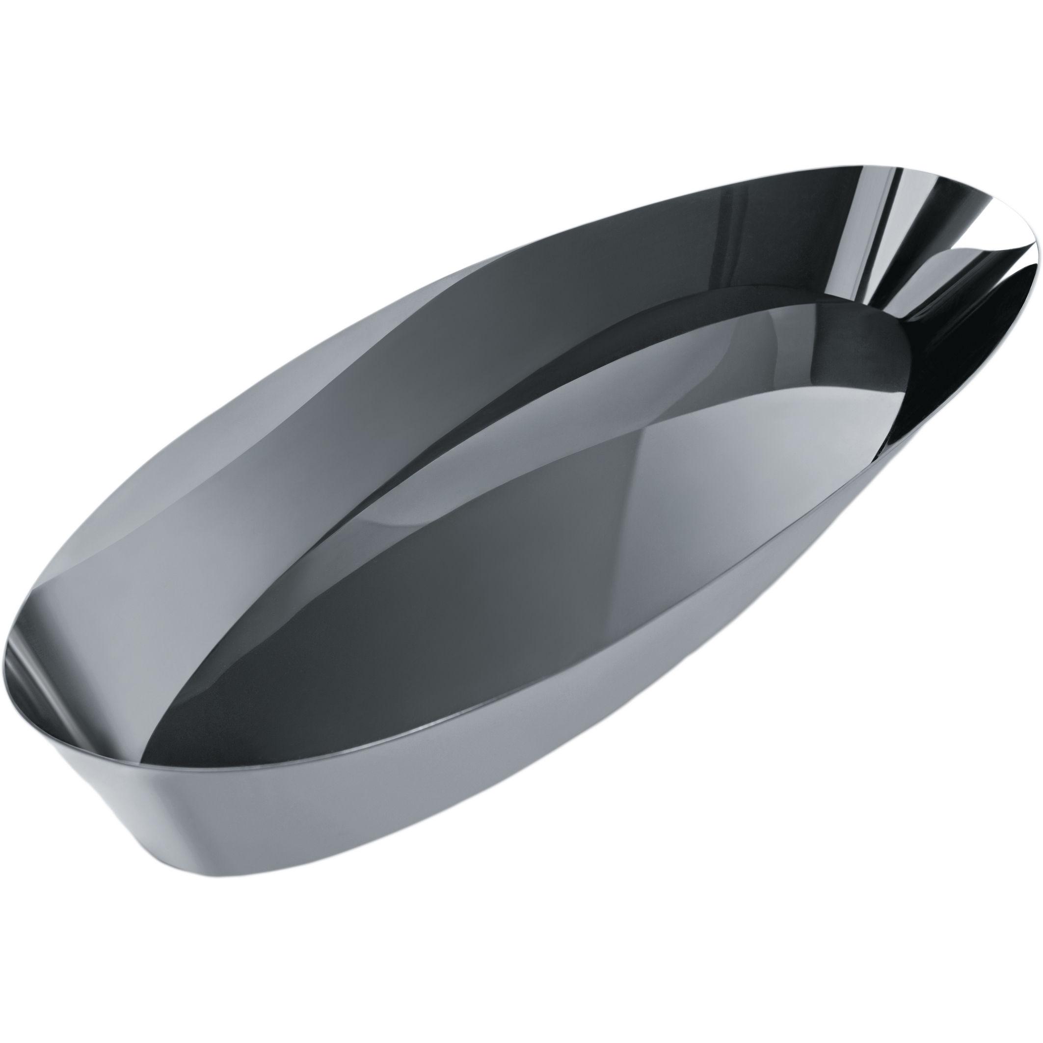 Pinpin portapane acciaio brillante by alessi made in design for Portapane alessi prezzo