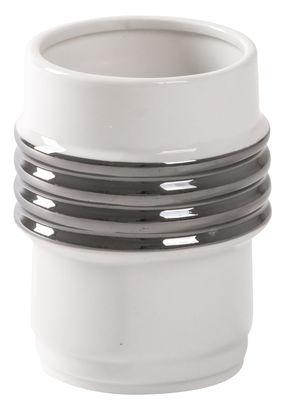 Mug Machine Collection n°2 Diesel living with Seletti Blanc,Argent en Céramique