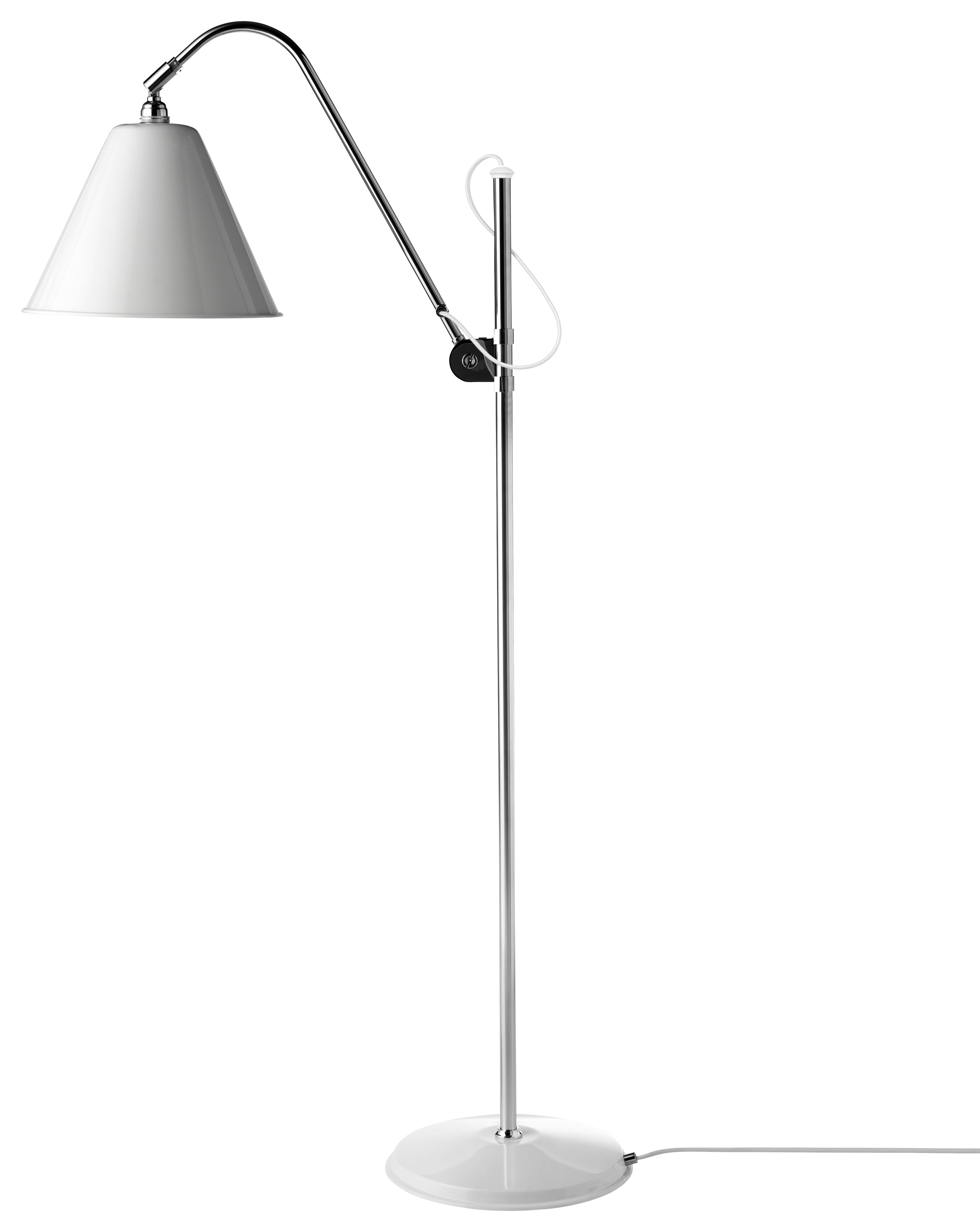 lampadaire bestlite bl3 original r dition de 1930 blanc. Black Bedroom Furniture Sets. Home Design Ideas
