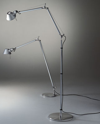 Tolomeo floor lamp aluminium by artemide made in design uk lighting floor lamps tolomeo floor lamp by artemide aluminium anodized aluminium aloadofball Image collections