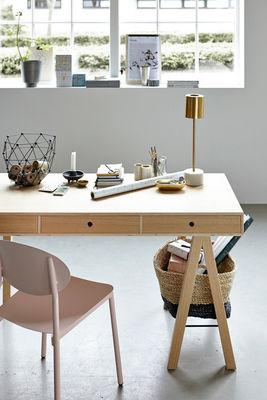 oak mix 150 x 65 cm house doctor schreibtisch. Black Bedroom Furniture Sets. Home Design Ideas