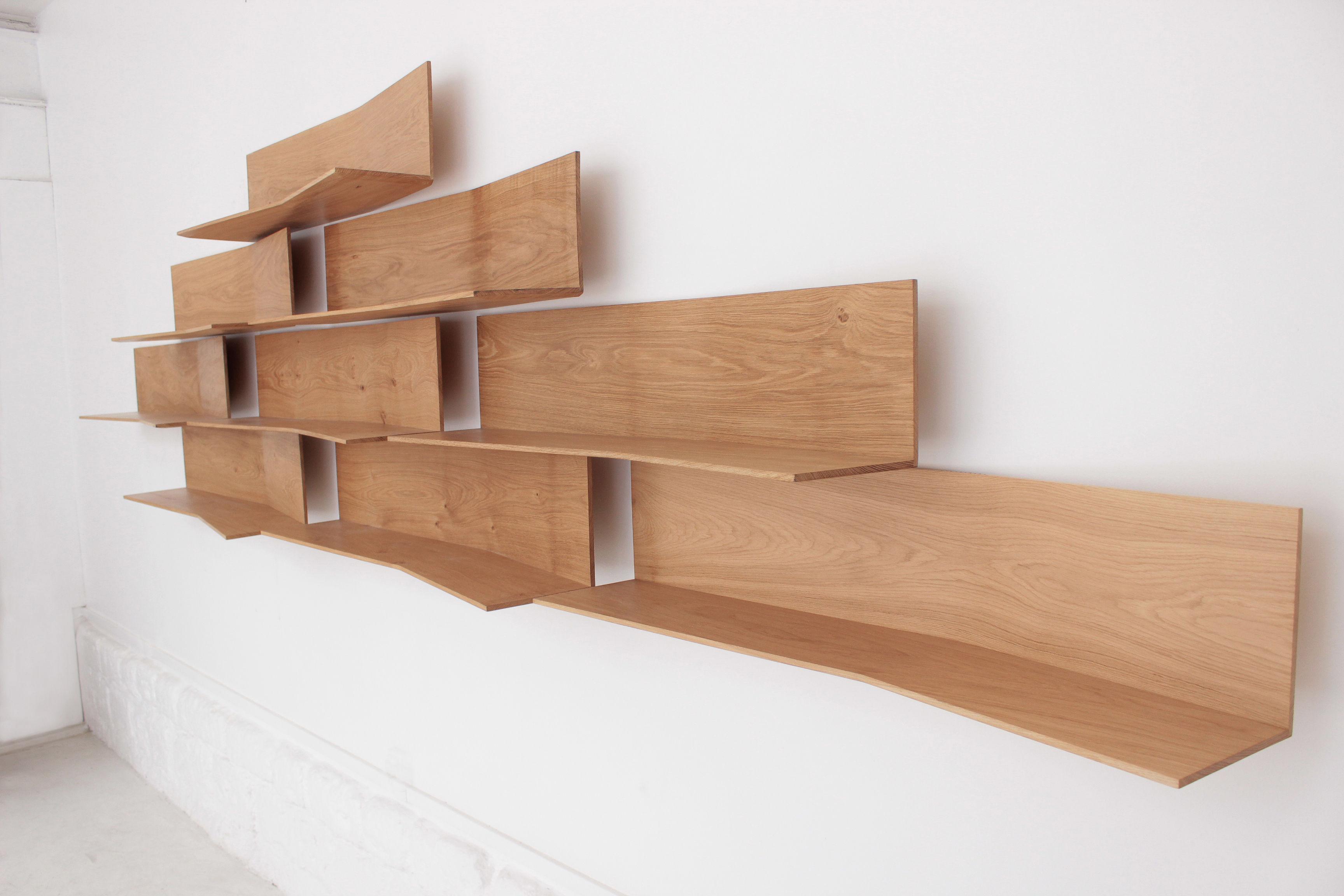 etag re 11 2 l 118 cm etag re l 39 unit bois naturel compagnie. Black Bedroom Furniture Sets. Home Design Ideas
