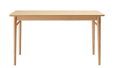 Table Oto 160 x 90 cm Ondarreta nude en bois