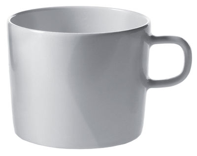 Tableware - Coffee Mugs & Tea Cups - Platebowlcup Teacup by A di Alessi - White cup - China