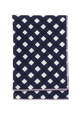 Arts de la table - Nappes, serviettes et sets - Serviette de table Okko - Marimekko - Bleu & blanc - Coton, Lin