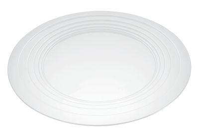 Arts de la table - Plateaux - Plateau Le Cerchie / Centre de table - Ø 48 cm - Alessi - Blanc - Acier laqué époxy