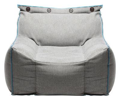 Poltrona Frolla - tessuto - Per l'interno di Skitsch - Blu,Grigio - Tessuto