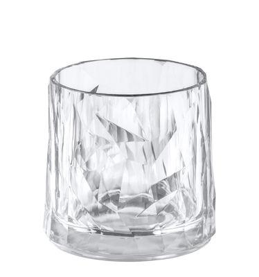 Verre Club No. 2 / H 8 cm - Koziol transparent en matière plastique