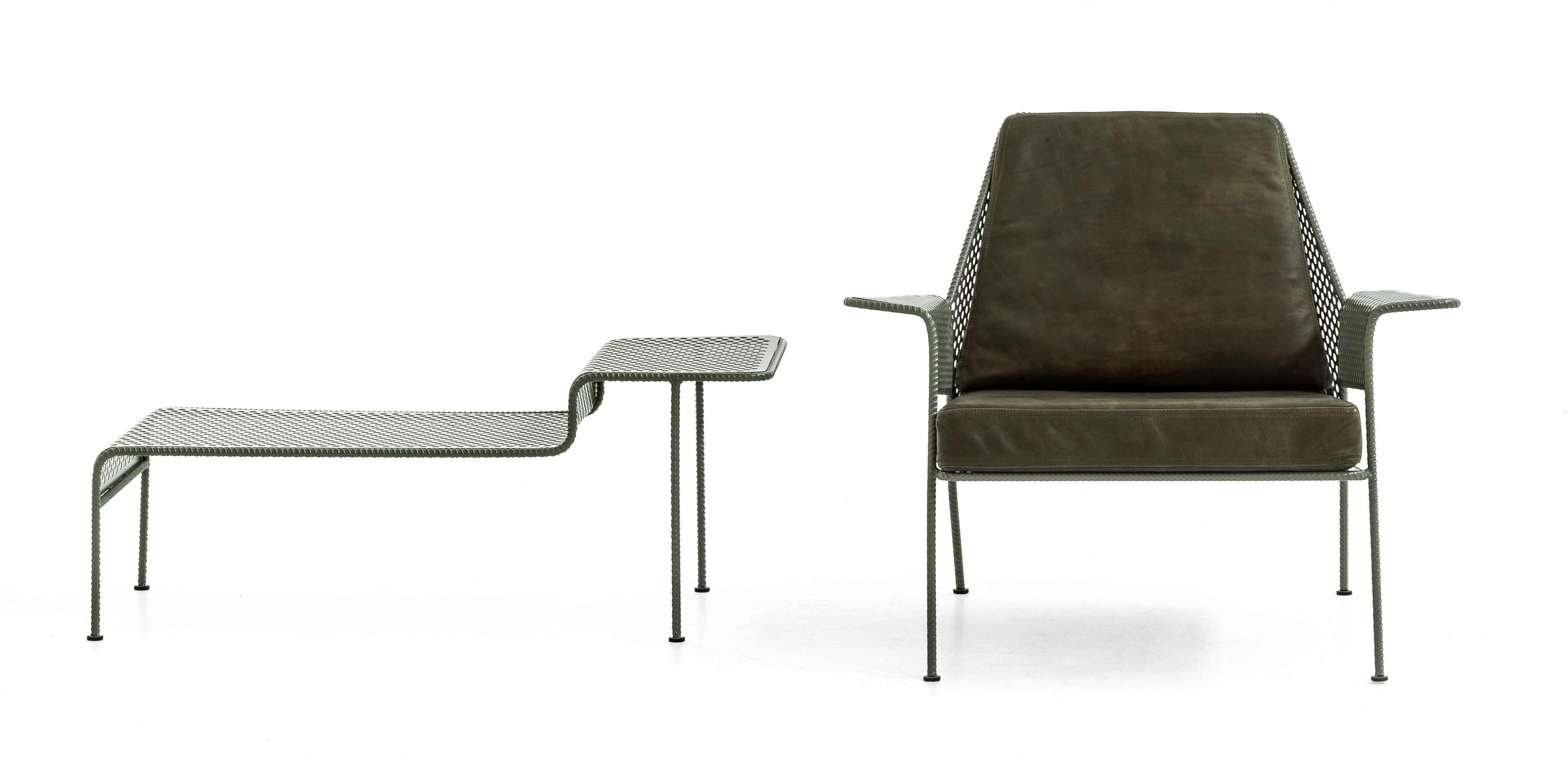Table Basse Work Is Over M Tal Perfor 110 X 45 Cm Anthracite Diesel With Moroso