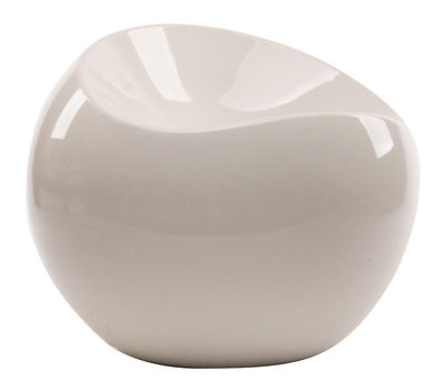 Ball Chair Pouf Cream by XL Boom | Made In Design UK