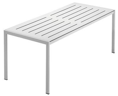 tavolo da giardino Sanmarco di Zanotta - Bianco - Metallo