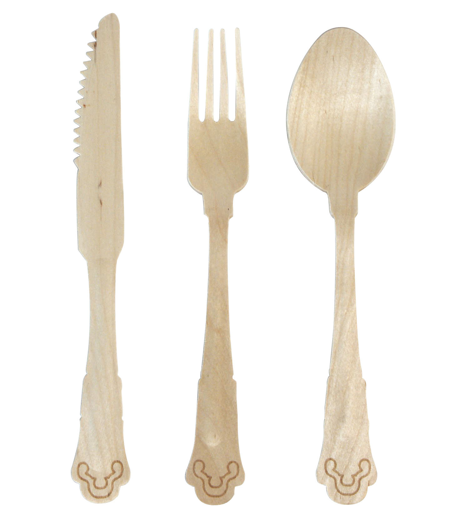 Tabl 233 E Cutlery Set Disposable Cutlery Set With Fabric