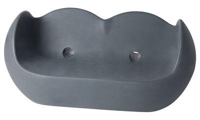 Sofà Blossy di Slide - Grigio - Materiale plastico