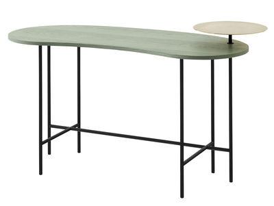 Bureau Palette JH9 / 2 plateaux - &tradition noir,laiton,gris vert en métal