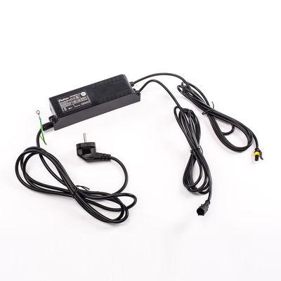 Luminaire - Lampes de table - Transformateur / Pour composition de 2 à 3 lampes Alphacrete ou Alphafont - Seletti - 6 kV / Noir - Plastique