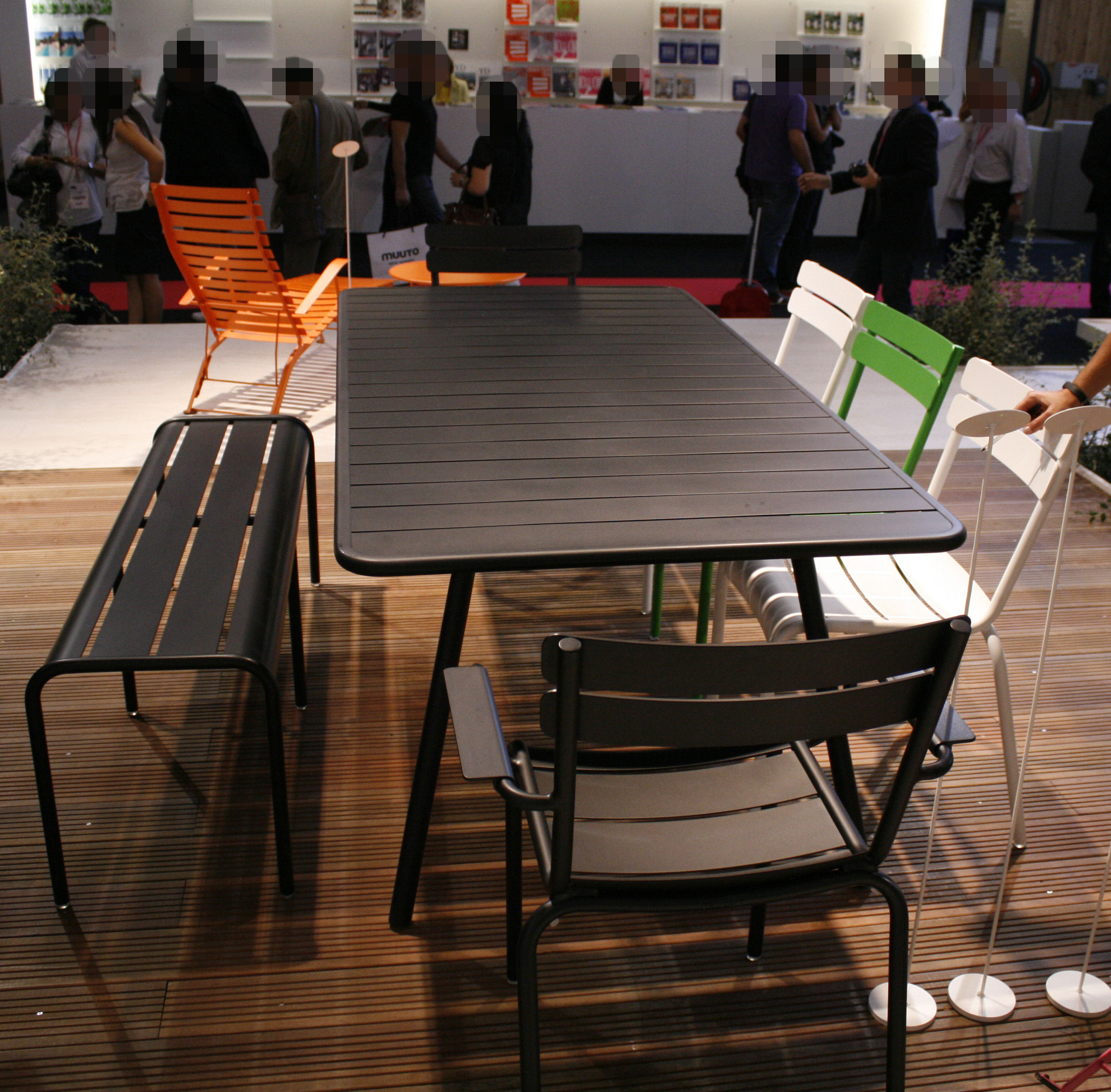 luxembourg rechteckig 8 personen l 207 cm fermob tisch. Black Bedroom Furniture Sets. Home Design Ideas