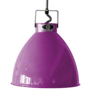 Suspension Augustin Medium Ø 24 cm - Jieldé violet brillant en métal