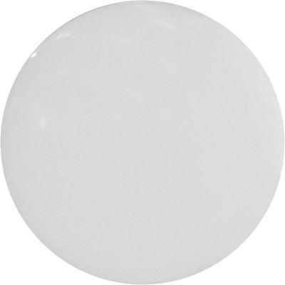 Foto Lampada da terra Globo Ø 80 cm - Per l'esterno- Munita di base da piantare- Slide - Bianco - Materiale plastico Lampada da pavimento