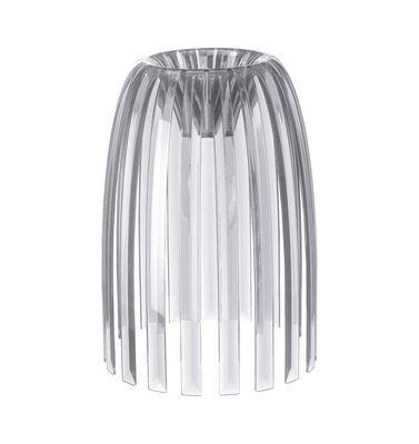 Abat-jour Josephine Small / Ø 22 x H 28 cm - Koziol transparent en matière plastique