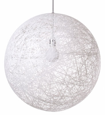 Suspension Random Light / Medium - Ø 80 cm - Moooi blanc en matière plastique