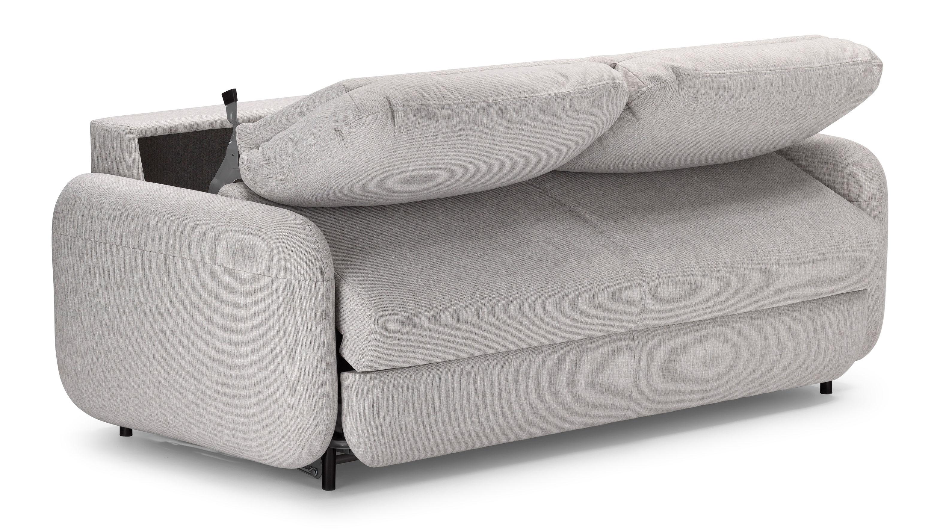 Scopri divano convertibile fluffy 2 posti l 190 cm for Divano convertibile