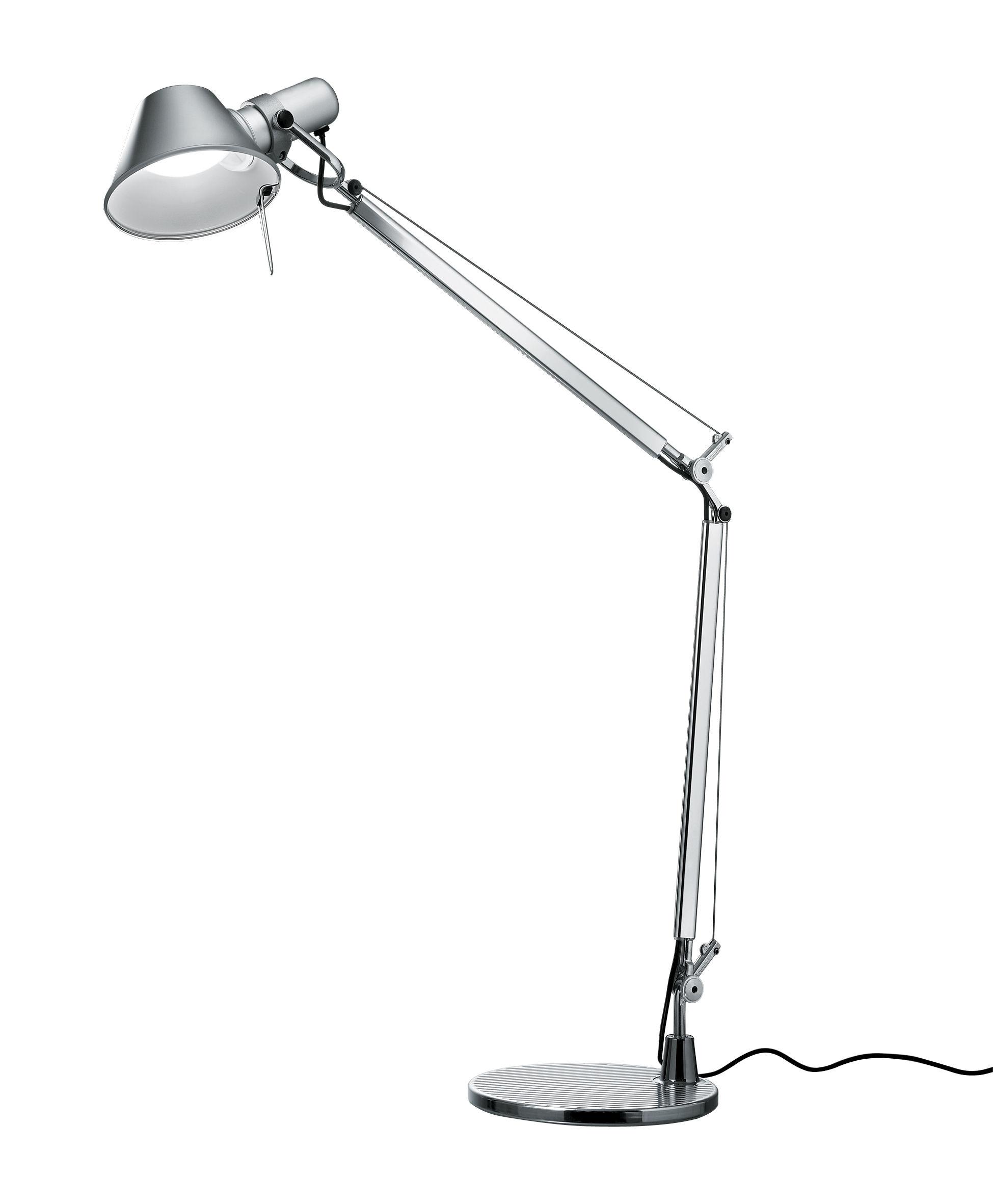 lampe de table tolomeo mini led avec d tecteur de pr sence aluminium avec capteur de. Black Bedroom Furniture Sets. Home Design Ideas