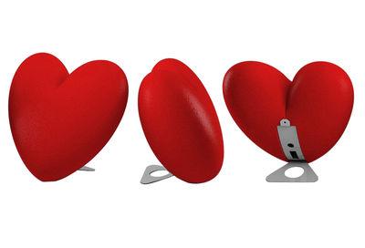 Interni - Oggetti déco - Applique Love - versione da appoggio di Slide - Rosso - Polietilene