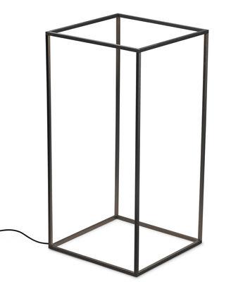 Lampe Ipnos LED / H 70 cm - Flos noir en métal