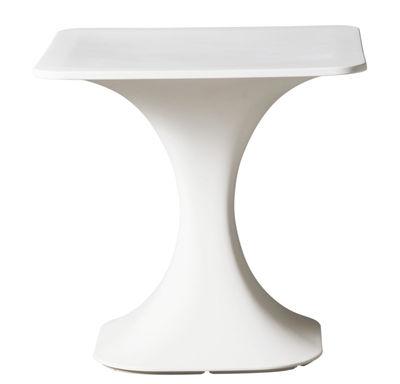 Milo Tisch / 75 x 75 cm - Serralunga - Weiß