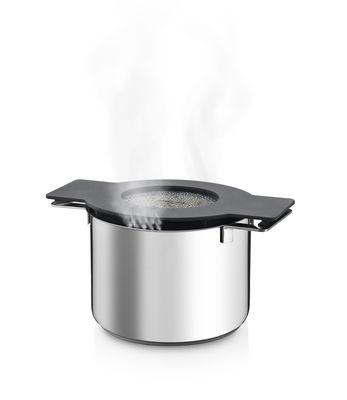 Faitout gravity 4l avec couvercle silicone gris eva solo Porte couvercle casserole
