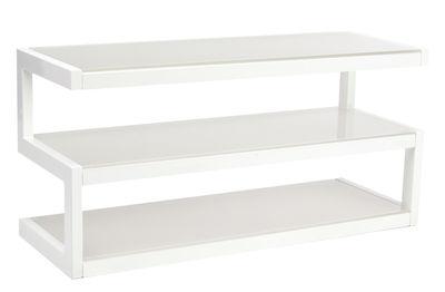 Meuble TV Esse / L 110 cm - NorStone blanc en métal