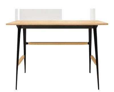 Kit Portable Atelier / Pour scrivania Moleskine - 1 pannello frontale + 1 laterale + porta-documenti - Driade - Bianco opaco - Metallo
