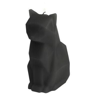Bougie Pyro Pet Kisa / Chat - Squelette en métal - Pa Design noir en cire