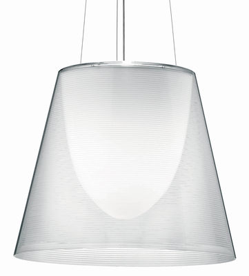 Luminaire - Suspensions - Suspension K Tribe S3 Ø 55 cm - Flos - Transparent - PMMA