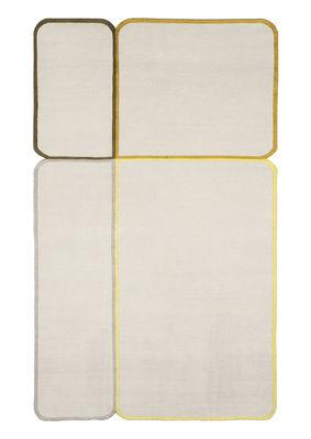 Déco - Tapis - Tapis Morpho / 250 x 150 cm - Chevalier édition - Gris / Vert / Noir - Laine, Soie