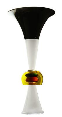 Vase Neobule by Ettore Sottsass / 1986 - Memphis Milano multicolore en verre