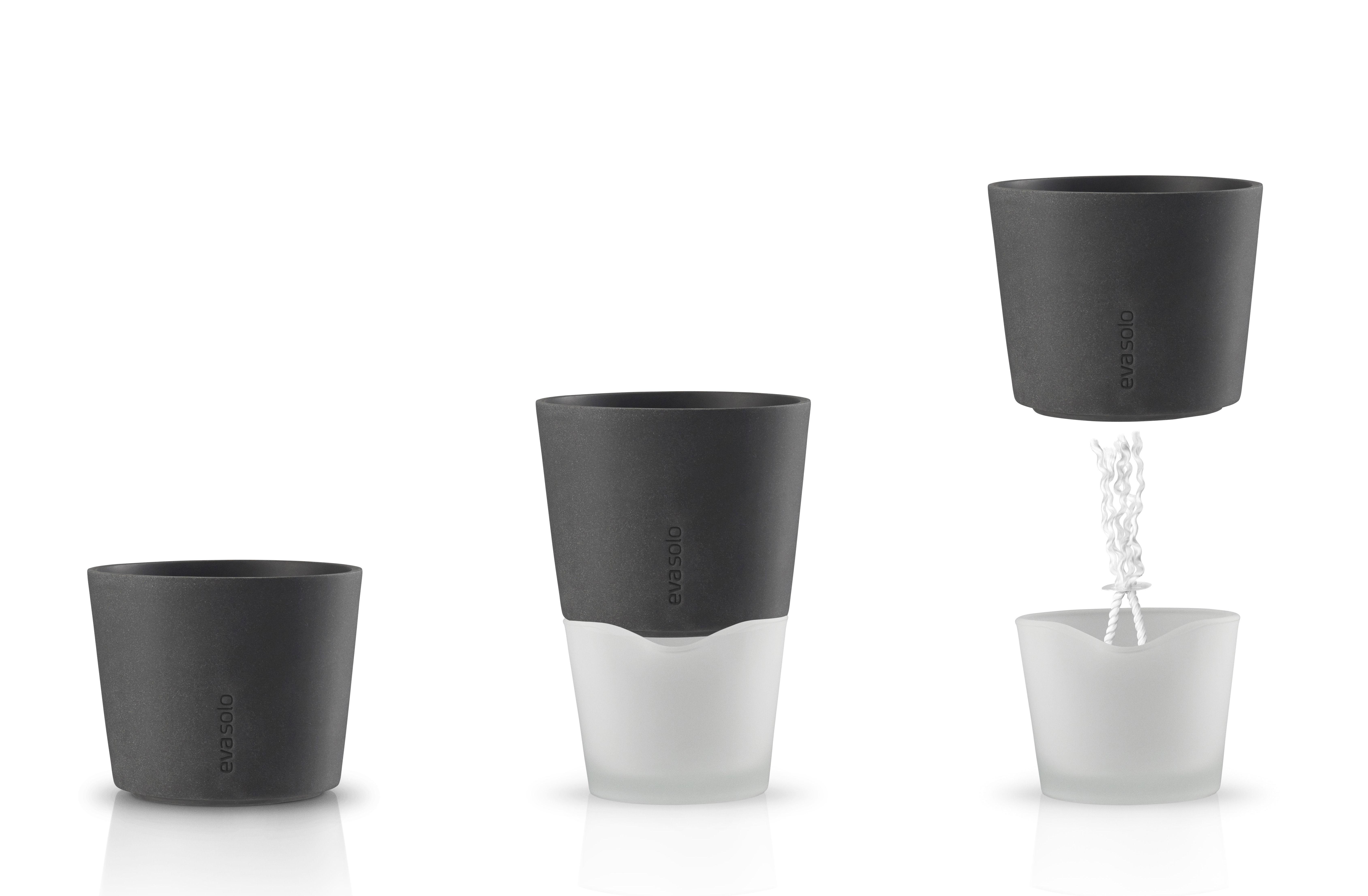 Scopri vaso con riserva con riserva d 39 acqua 11 cm for Acqua design italia