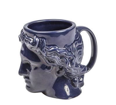 Mug Hestia - Doiy bleu en céramique