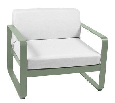 Bellevie Gepolsterter Sessel / weißer Stoff - Fermob