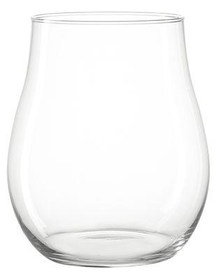 Photophore Giardino / Vase - H 27 cm - Leonardo transparent en verre