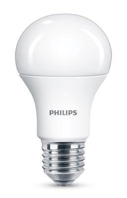 Ampoule LED E27 Standard Dépolie / 5W (40W) - 470 lumen - Philips blanc dépoli en verre