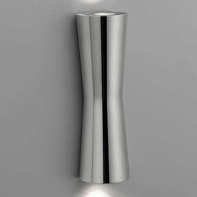 Luminaire - Appliques - Applique Clessidra 40° LED - Pour l'intérieur - Flos - Chromé - Fonte d'aluminium, PMMA
