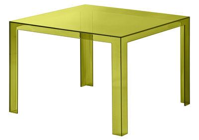 Invisible Tisch 72 cm - Kartell - Olivgrün