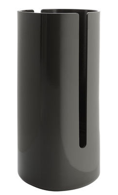 Scopri cache rouleau de papier toilette birillo antracite di alessi made in design italia - Accessori bagno alessi ...