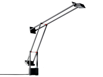 Lighting - Table Lamps - Tizio Micro Table lamp by Artemide - Black - Painted polycarbonate