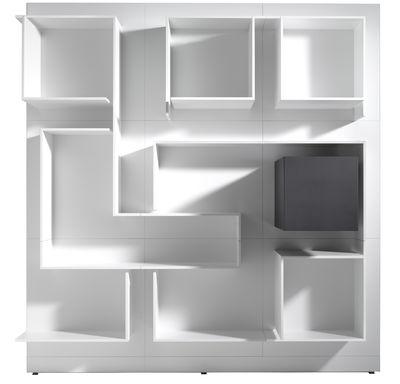 Bibliothèque Vita n°15 / L 180 x H 180 cm Composition n°15 - L 180 x ...