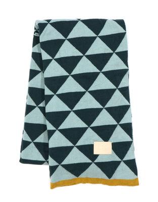 Plaid Remix / 150 x 120 cm - Ferm Living bleu en tissu